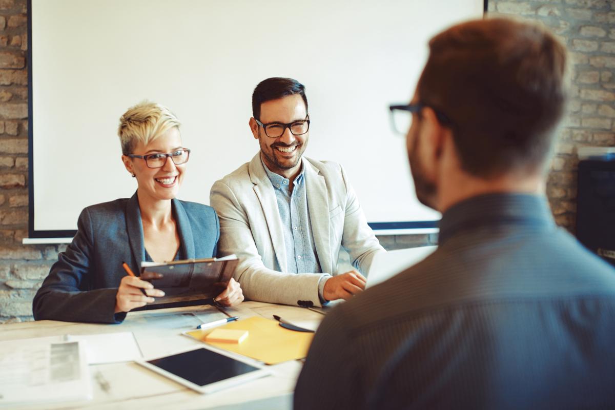 Sutton Recruitment job interview